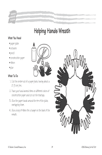 Helping Hands Wreath