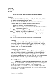 Ap English Language Sample Essays 2008 Question 2010 Form B