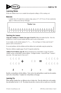 How to Add Using a Number Line