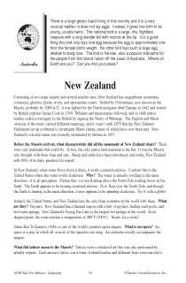 Fascinating Geography Facts: New Zealand