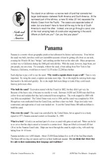 Fascinating Geography Facts: Panama