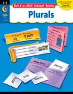 Build-a-Skill Instant Books: Plurals (Grades 2-3)