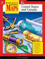 Maps: United States and Canada (Grades 4-6)
