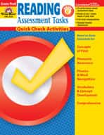 Reading Assessment Tasks: Quick Check Activities, PK
