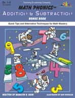 Math Phonics Addition & Subtraction Bonus Book