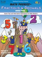 Math Phonics Fractions & Decimals Bonus Book