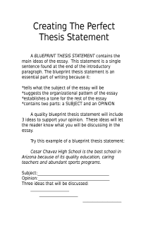 Thesis statement how to write