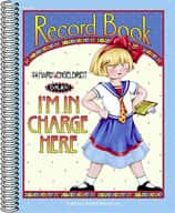 I'm in Charge Here Record Book from Mary Engelbreit
