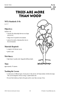 Trees Are More Than Wood