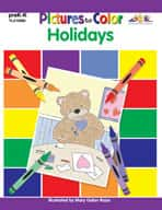 Pictures to Color: Holidays (Enhanced eBook)