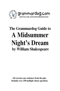Grammardog Guide to A Midsummer Night's Dream