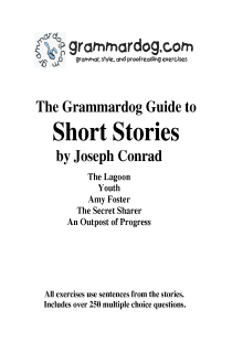 Grammardog Guide to Conrad Short Stories