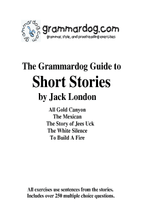 Grammardog Guide to London Short Stories