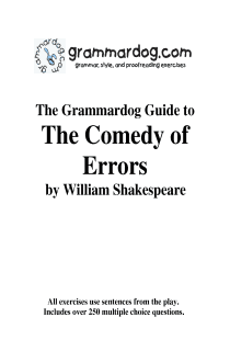 Grammardog Guide to The Comedy of Errors