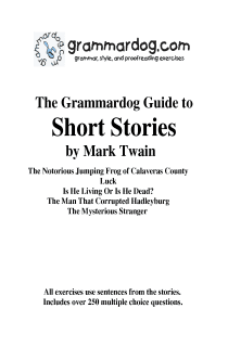 Grammardog Guide to Twain Short Stories