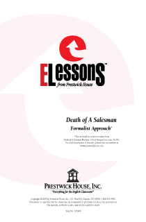 Death of a Salesman - Formalist Approach