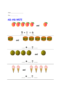 Simple Addition for Grade 1