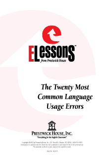 20 Most Common Language Usage Errors