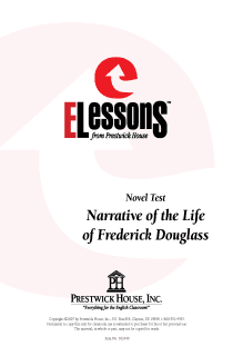 Narrative of the Life of Frederick Douglass - Novel Test