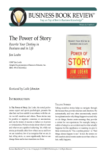 The Power of Story - Book Summary