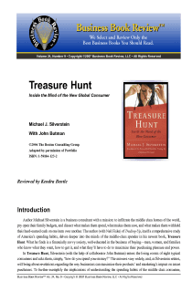 Treasure Hunt - Book Summary