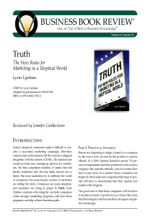 Truth - Book Summary