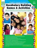 ELL: Vocabulary Building Games and Activities