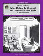 A Guide for Using Miss Nelson is Missing in the Classroom (Enhanced eBook)
