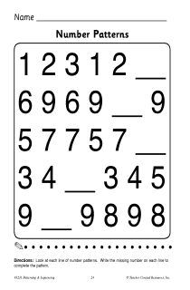 math worksheet : number pattern activity  browse patterns : Patterns In Math Worksheets
