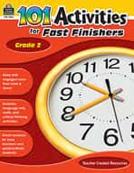 101 Activities For Fast Finishers (Grade 2)