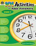 101 Activities For Fast Finishers (Grade 3)