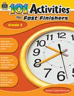 101 Activities For Fast Finishers (Grades 5)