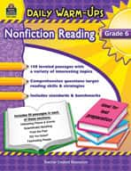 Daily Warm-Ups: Nonfiction Reading (Grades 6)
