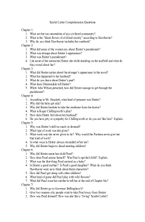 the scarlet letter study guide questions essay Essay questions as students explore the lessons in the scarlet letter, there are some questions that will help them develop essay responses use the questions below to generate deeper thinking regarding the novel social pressures in the scarlet letter, the characters are pressured by religious and societal expectations explain how the expectations affect the behavior of hester prynne, roger chillingworth, and arthur dimmesdale.