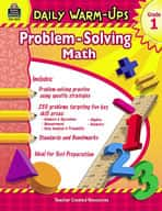 Daily Warm-Ups: Problem Solving Math: Grade 1