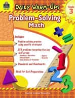 Daily Warm-Ups: Problem Solving Math: Grade 3
