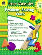 Daily Warm-Ups: Problem Solving Math: Grade 4 (Enhanced eBook)