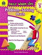 Daily Warm-Ups: Problem Solving Math: Grade 5 (Enhanced eBook)