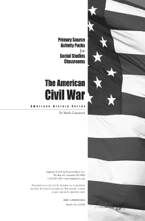 American Civil War Activity Pack