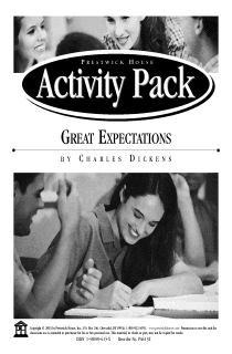 Great Expectations Activity Pack
