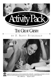 The Great Gatsby Activity Pack