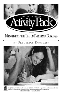 Narrative of the Life of Frederick Douglass, an American Slave, Written by Himself Activity Pack