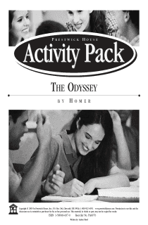 The Odyssey Activity Pack