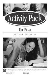 The Pearl Activity Pack