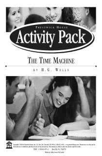 The Time Machine Activity Pack
