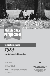 1984 Multiple Perspectives
