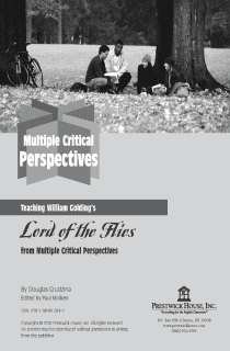 Lord of the Flies Multiple Perspectives