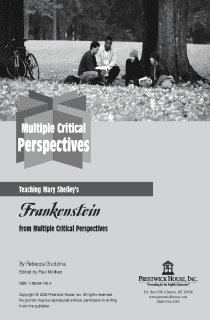 Frankenstein Multiple Perspectives