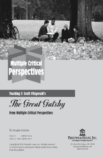 The Great Gatsby Multiple Perspectives