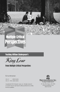 King Lear Multiple Perspectives